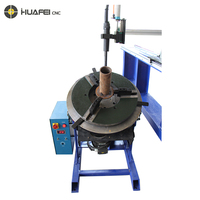 Infinitely variable speed rotating pipe flange welding positioner rotator table