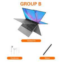 Teclast F5 ноутбук Windows 8 Гб RAM 256 ГБ SSD Intel Gemini Lake N4100 1920*1080 Быстрая зарядка 360 Вращающийся сенсорный экран ноутбук ПК(Китай)