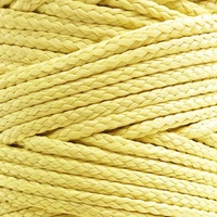 Braided aramid rope braided kevlar string utility cord mason line for kite bridle fishing camping packing