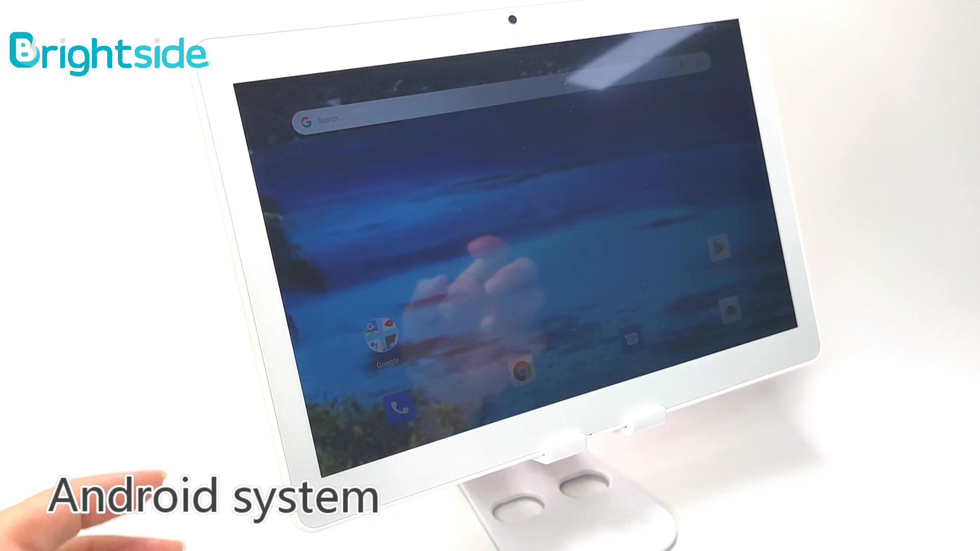 Brightside fcc ceritifcation yüksek kaliteli 10 inç android tablet sim 3g eğitim tablet pc