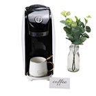 Portable full automatic 220v electric espresso coffee maker with single serve