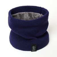 Autumn and winter acrylic rib knit warm neck and neck warm scarf Knitted neck warmer