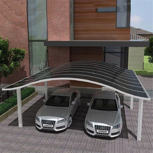 Ten-year warranty PC roofing sheet for car garage tents/parking awning