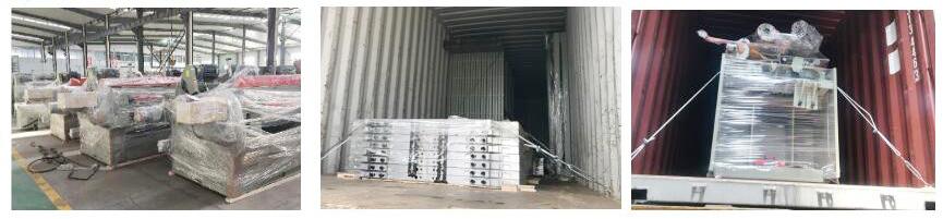 laminating plywood hot press machine factory