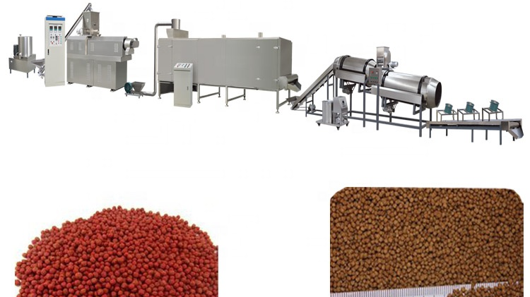 Best Selling China Fish Feed Pellet Manufacturing Line Machinery Plant Equipment