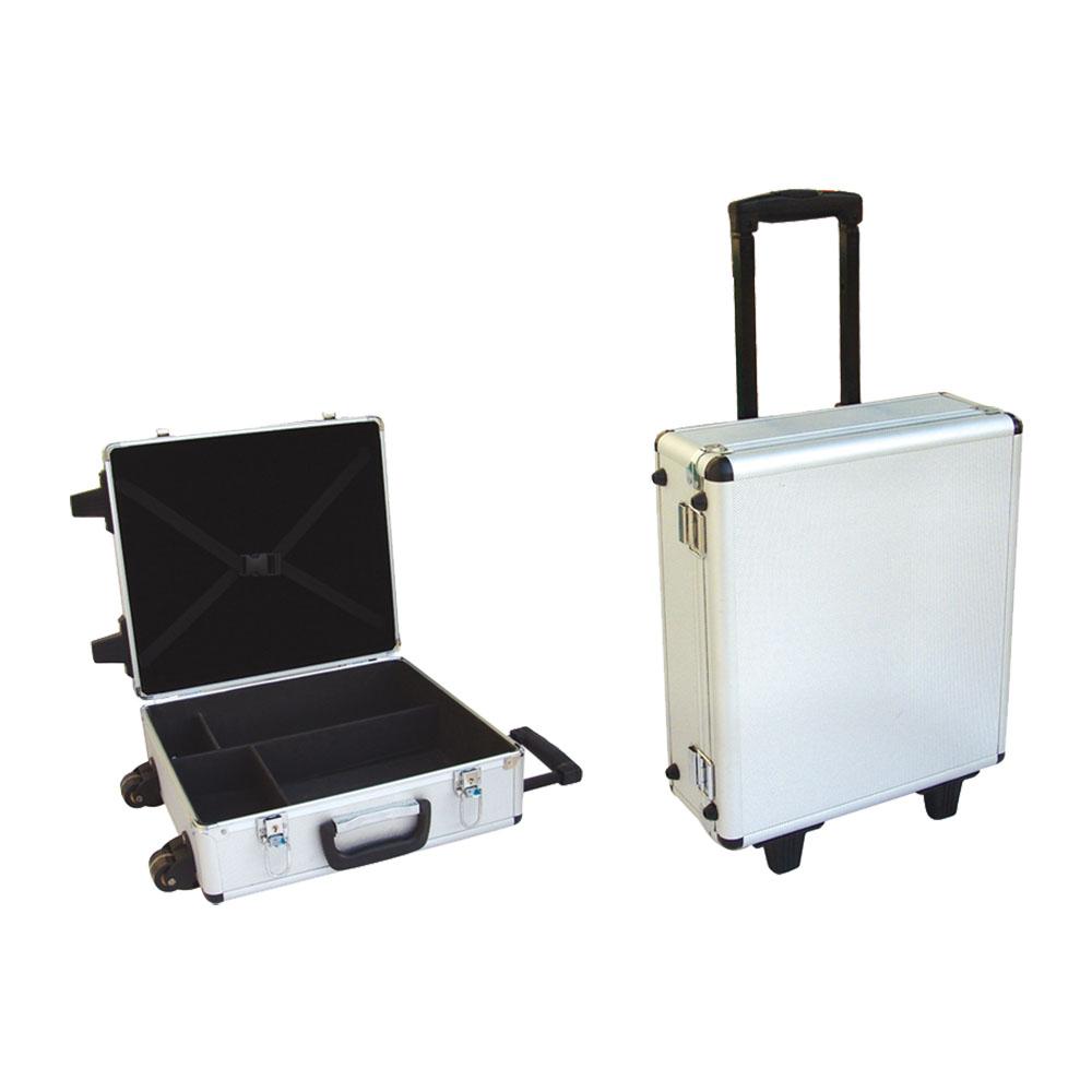 Alumínio caso do vôo/hard carrying case/caixa de ferramentas de armazenamento com espuma personalizado
