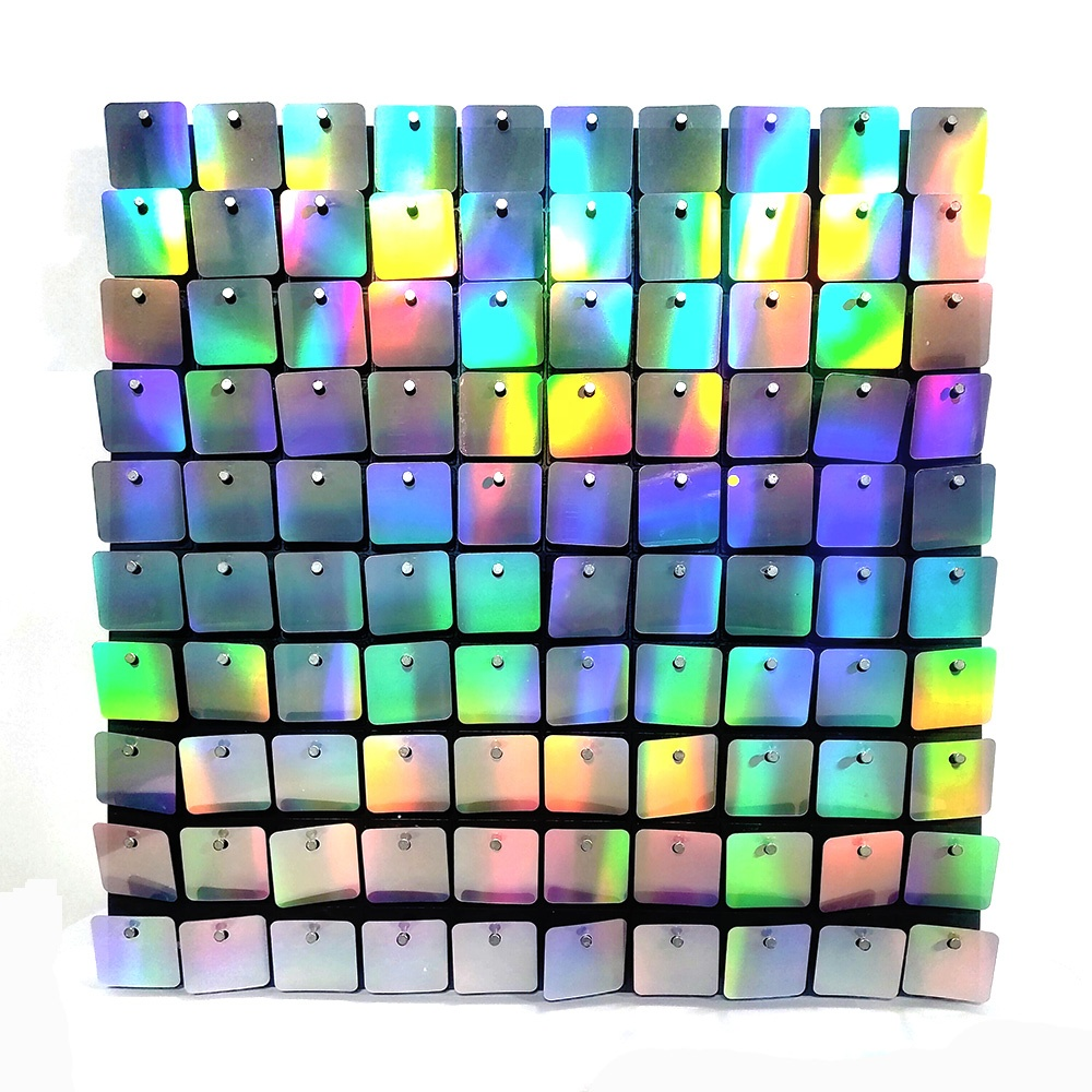 2020 Shimmer Sequin Wall Panel Bulk Square Round Shape