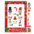 Christmas Photo Booth Prop Frame xmas party Decorations Supplies