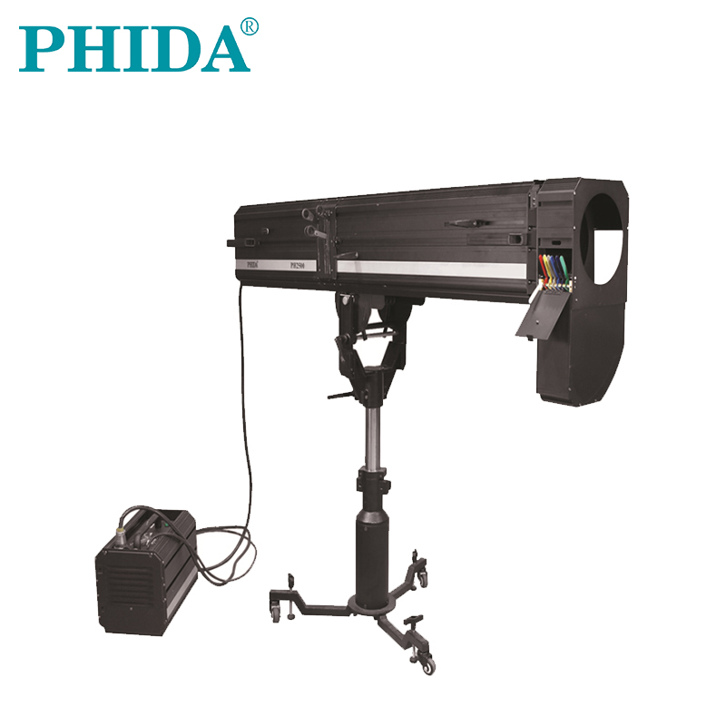 2500w Tungsten followspot 2500W followspot professionele follow tungsten lamp podium licht theater