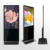 HD 1080P werbung lcd screen display totem player digital signage große multi touch screen monitor ausrüstung steht