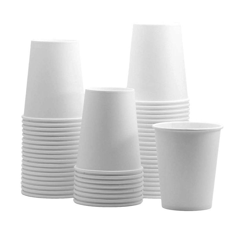ทิ้ง8Ozกระดาษเปล่าถ้วยกาแฟเดี่ยวผนัง260gsmเครื่องดื่มร้อนถ้วยกระดาษ