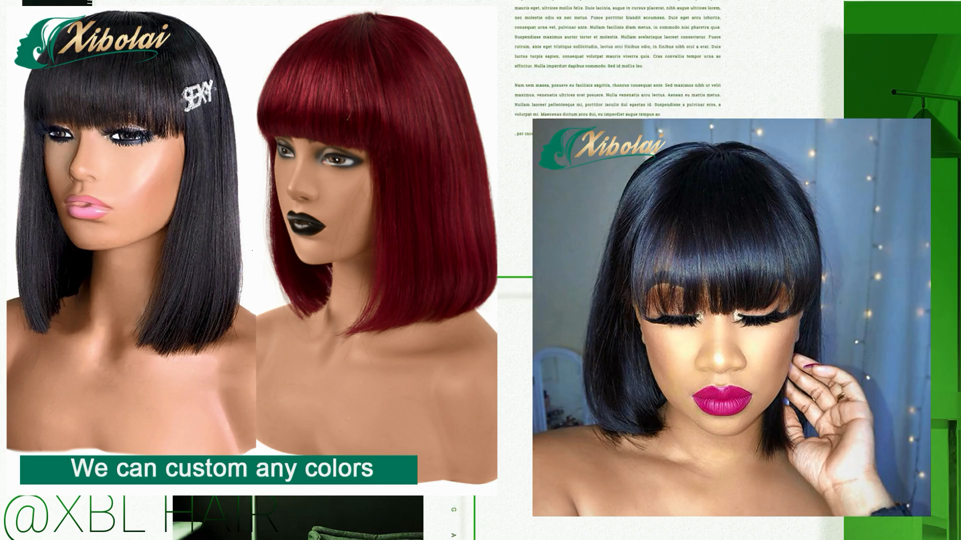 JcXBL 100% Machine made no lace virgin cuticle aligned hair wigs,8-16'' black straight short bob wigs for black women