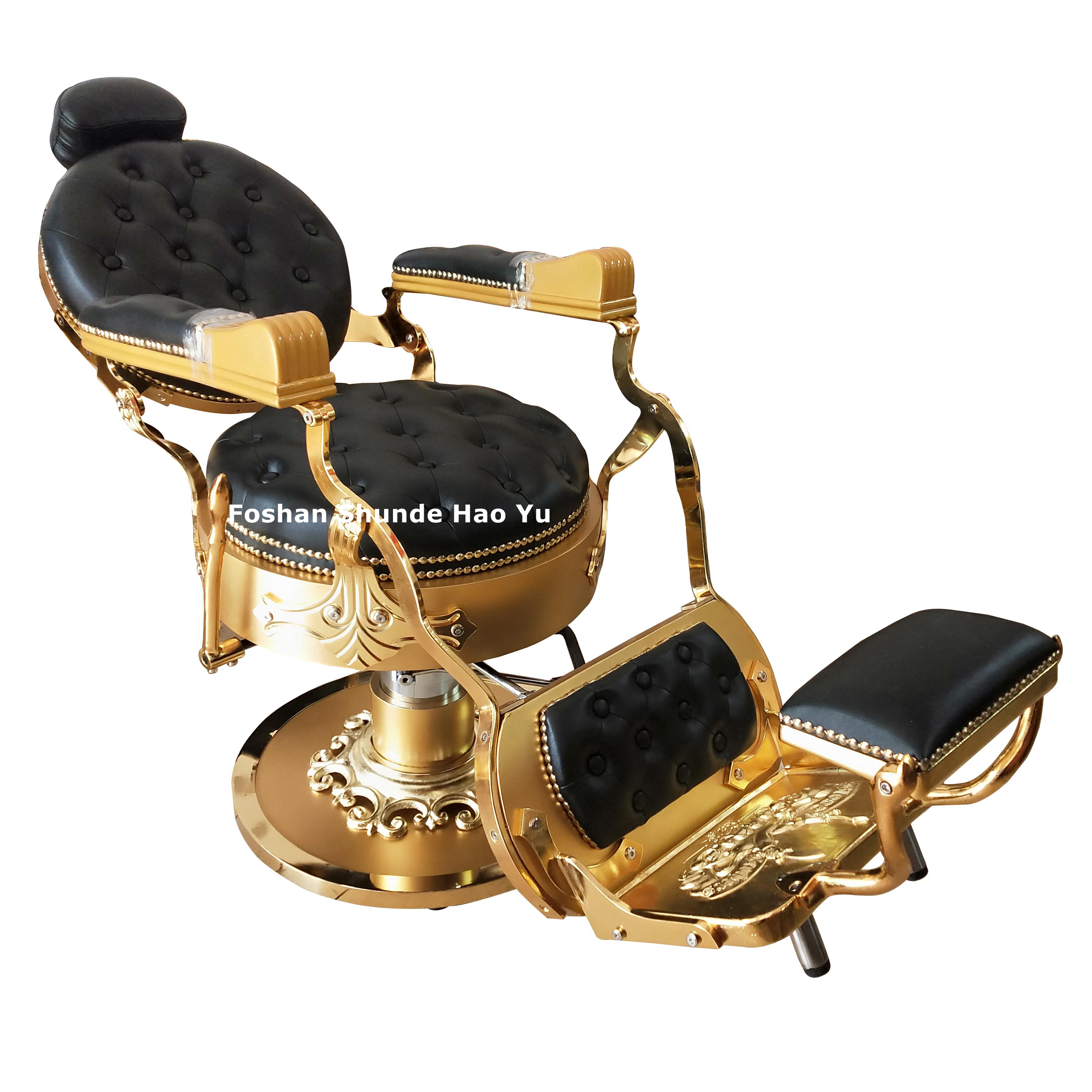 BC101 reclining barber chair portable duty barber chair