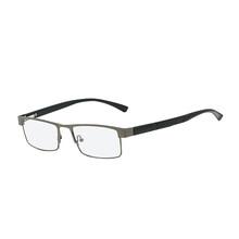 Для мужчин Титан сплава очки для чтения не сферические 12 Слои линзы с покрытием Ретро Бизнес дальнозоркости, по рецепту очки Z267(Китай)