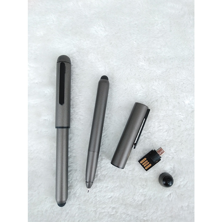 Corporate geschenk multifunktions custom stylus touch screen usb flash pen drive