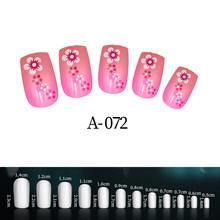 24 шт., детские акриловые накладные ногти с рисунками из мультфильмов, подходят для профессионального салона или самостоятельного личного и...(Китай)