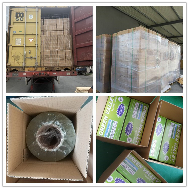 Factory hot sale pvc cling film food grade