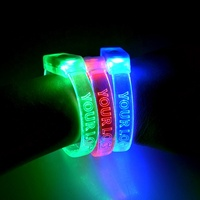 Wholesale Sound Activated Color Change Led Glow Wristband Bracelet