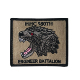 Excellent custom woven badges transfers towel embroidery patch