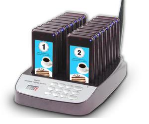 Restaurant electric customer wireless calling system