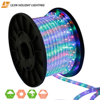 Diwali colorful 100m led rope light for led