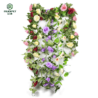 Factory wholesale artificial single flower garden home wedding decoration single branch wedding flower