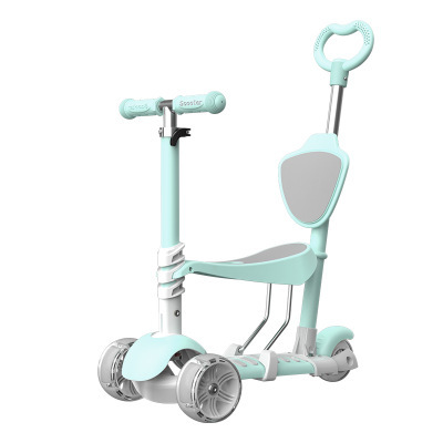 1-7 years old Can sit and slide safe scooter girl boy child kids scooter