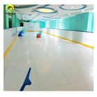 Complete synthetic ice hockey shooting rink skating plastic boards