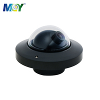 720P 1080P AHD Mobile Silver Mini Dome Car CCTV Camera for Bus Car Truck Security Inside View