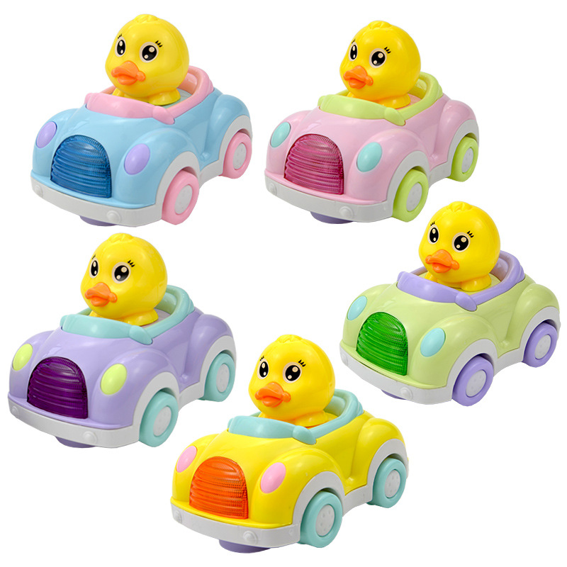 2020 High Quality Car <strong>Electrical</strong> <strong>Animal</strong> Toy Cartoon Small Duck Vehicle Music Toy