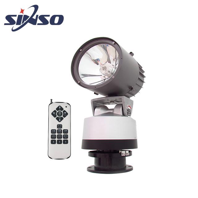 outdoor waterproof HID xenon lamp remote control rotating spotlight
