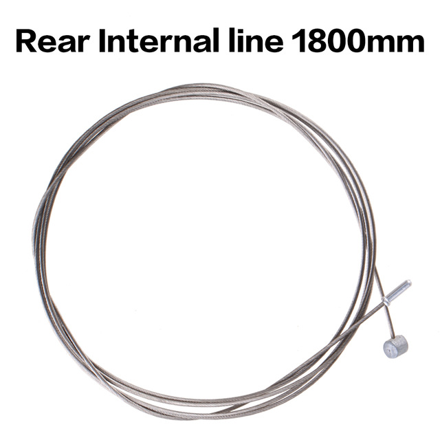 Hot sale customized rear internal line 1800mm steel Internal line brake cable
