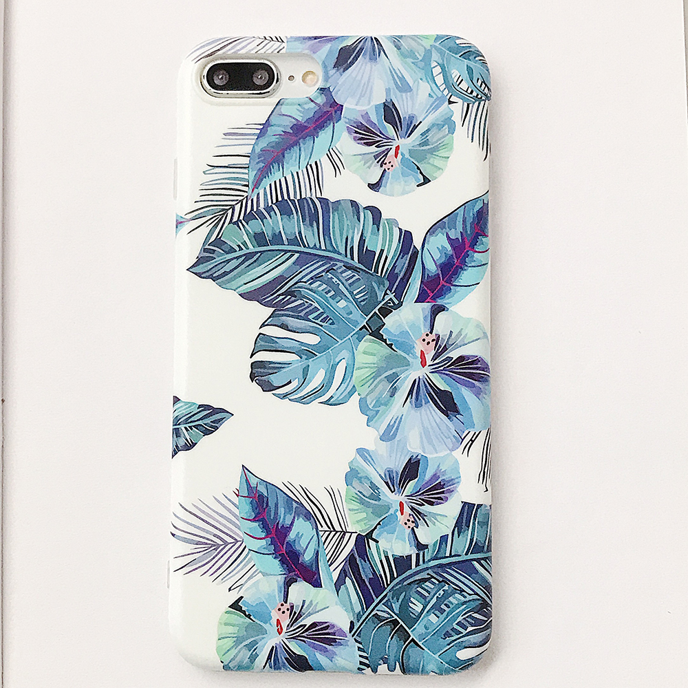 Fashion Floral Soft IMD Print Soft TPU Full Mobile Phone Cover For iPhone 11