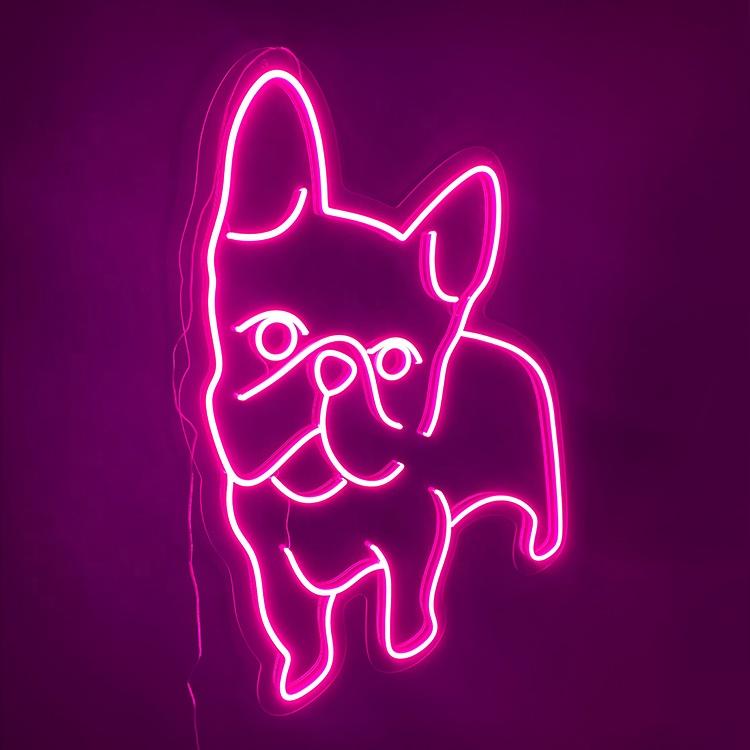 Manufacturer Custom art neon light letter sign, Led flex personalized neon light sign for wall/hanging bedroom/room