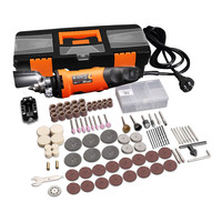LOMVUM Electric Grinder Set Electric Drill Engraving Tool 350W Speed Grinding Polishing Rotary Tool Drill