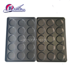 burger equipment stainless steel hamburger bun baking pan bakery supplier in China