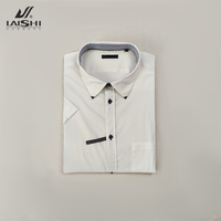 Wholesale Solid Color Short Sleeve Men's Casual Shirts