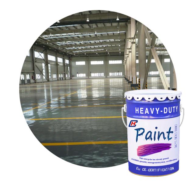 Líquido piso pintura epóxi resistente à abrasão