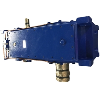 China H series heavy duty helical gear reducer power reducer truck mixer gearbox motor engine