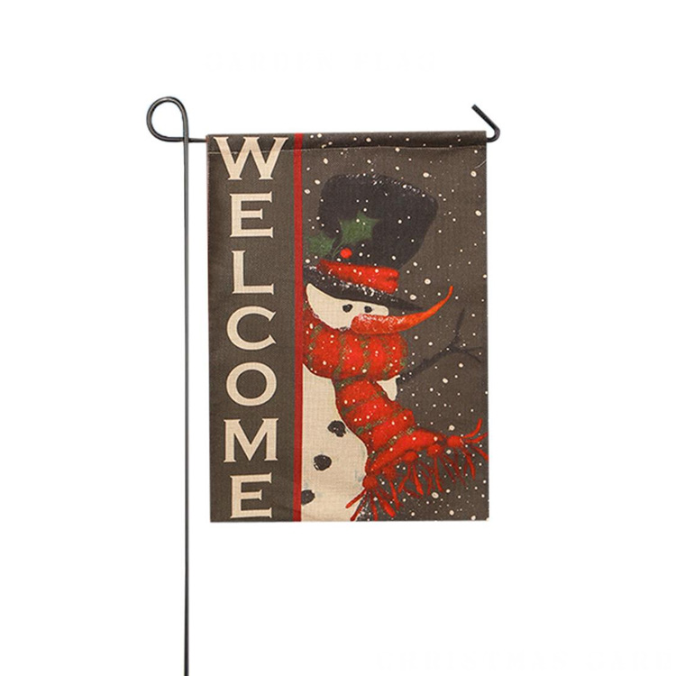 Wholesale Christmas garden flags with Polyester or sunshade <strong>cloth</strong>