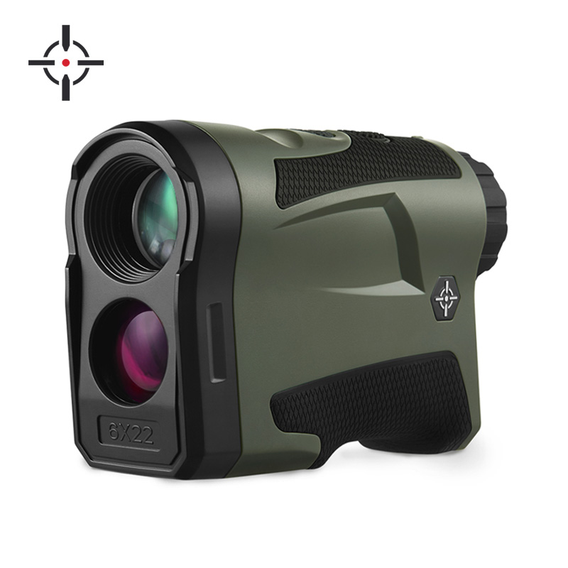 Wholesale professional 6X magnification laser distance meter range finder