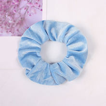 1 шт., одноцветные плотные бархатные резинки, женские милые аксессуары для волос, кольцо для волос для девочек, эластичные резинки для волос, ...(Китай)