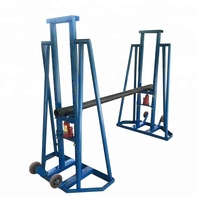 optic cable jack stand cable drum jack