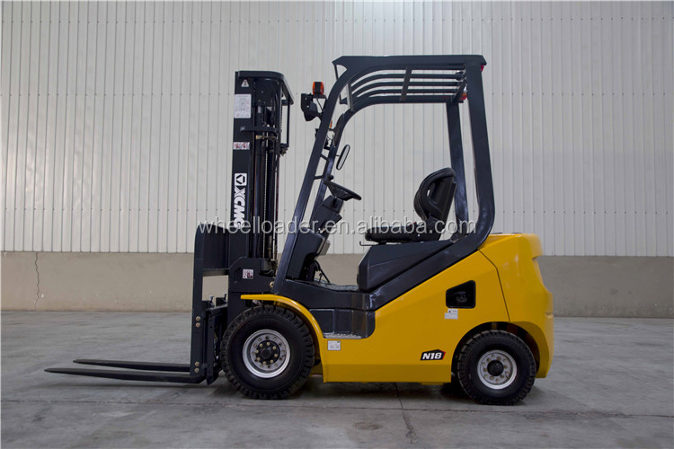 China xcmg lift truck FD18T-I 1.8ton diesel forklift for sale