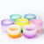 SUCCESS Oriental Cherry Singing Bowl Colored Chakra set CDEFGAB Frosted Crystal Singing Bowl wholesale