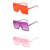 UV400 Big Frame Gradient Shades Oversized Square Vintage Sunglasses 2020 2021
