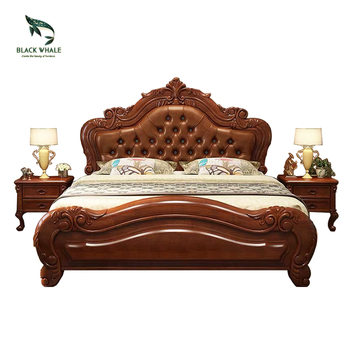 Bedroom Furniture Sets Lit Storage Antique Queen King Size Double Wood Beds