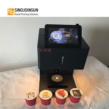 high quality latte multicolor printer fashionable coffee printing machine WIFI cappuccino face marker printer machine