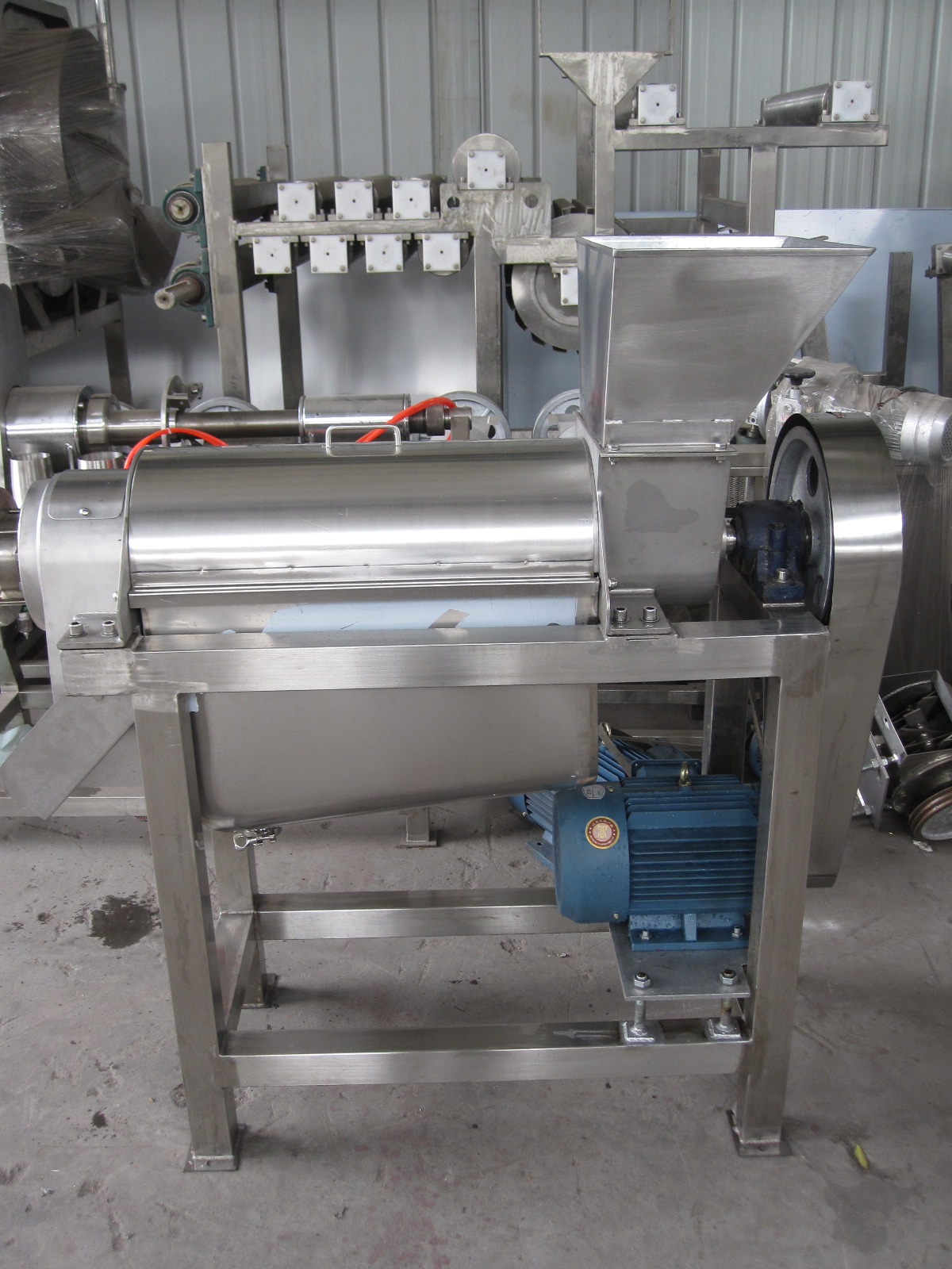 Banana Coconut Watermelon Juice Extractor Extracting Machine