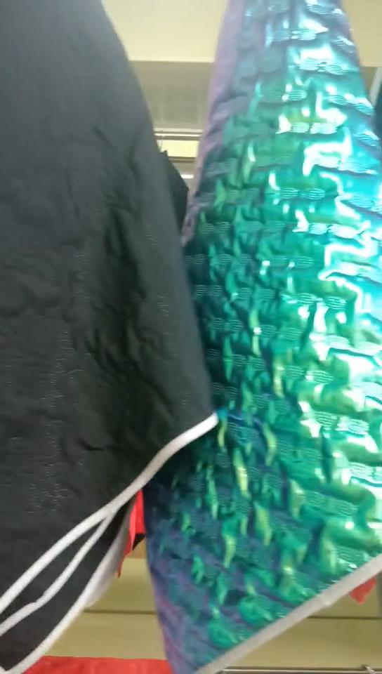Kunden anforderungen farbe stepp wasserdicht stoff